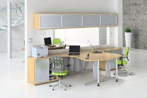Arbeitszimmer gestaltungsideen  Arbeitsplatzgestaltung - Blendschutz und optimales Licht mit ...