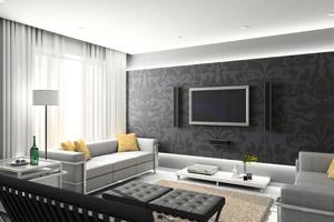 einrichtungsideen f rs wohnzimmer wohnraumgestaltung mit dem raumtextilienshop. Black Bedroom Furniture Sets. Home Design Ideas